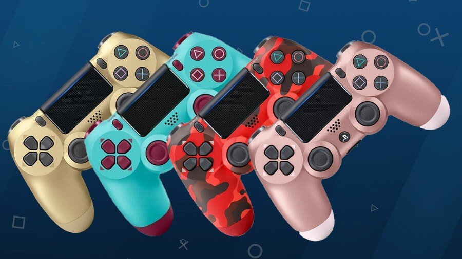PS4 All Controller Colours