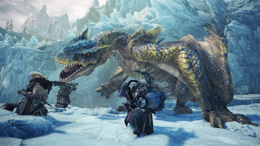 Monster Hunter World Iceborne PS4 Beta