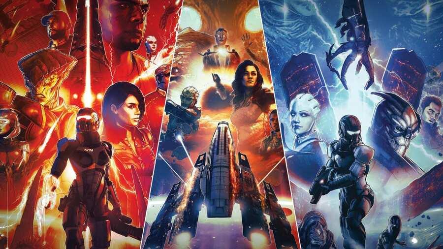 Mass Effect Legendary Edition PS4 Trophies