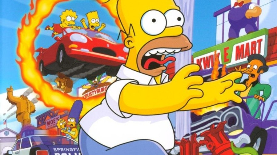 The Simpsons Hit & Run PS4