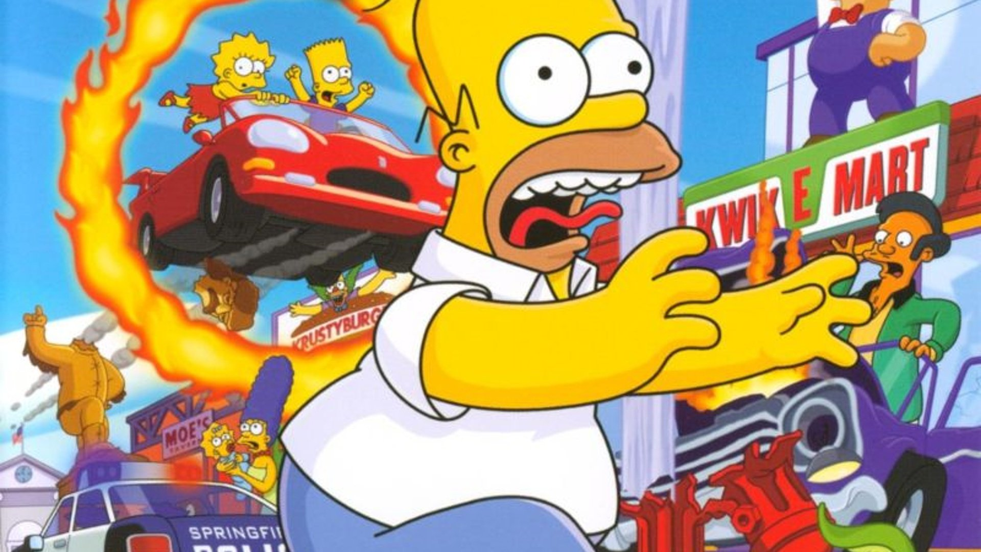 The Simpsons: Hit & Run Dev Wants to Remake the PS2 Classic