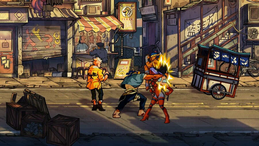 Streets of Rage 4 PS4 PlayStation 4 1