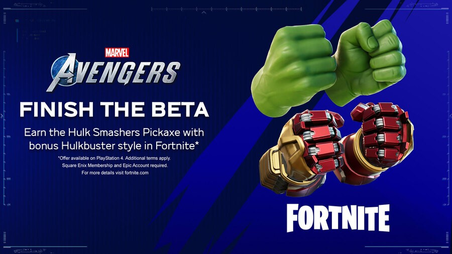 Marvel's Avengers PS4 PlayStation 4 Fortnite