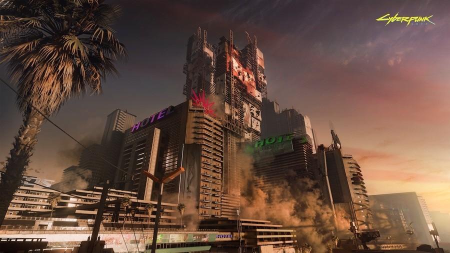 Cyberpunk 2077 Open World Map Size