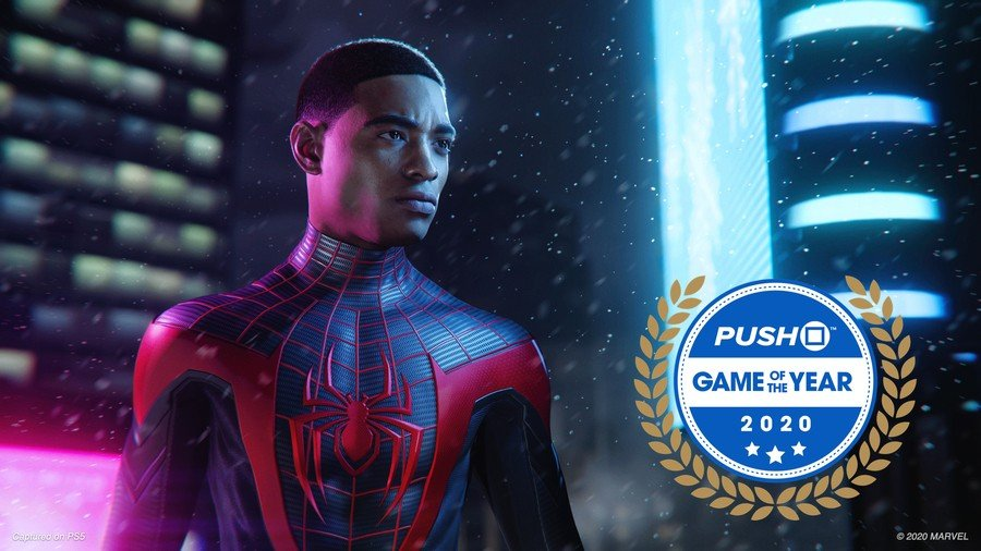 Marvel's Spider-Man: Miles Morales PS5 PlayStation 5 Game of the Year GOTY 2020
