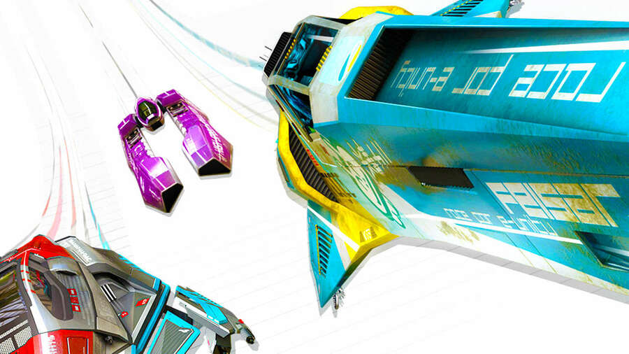 WipEout Omega Collection PS4 PlayStation 4 PS Plus
