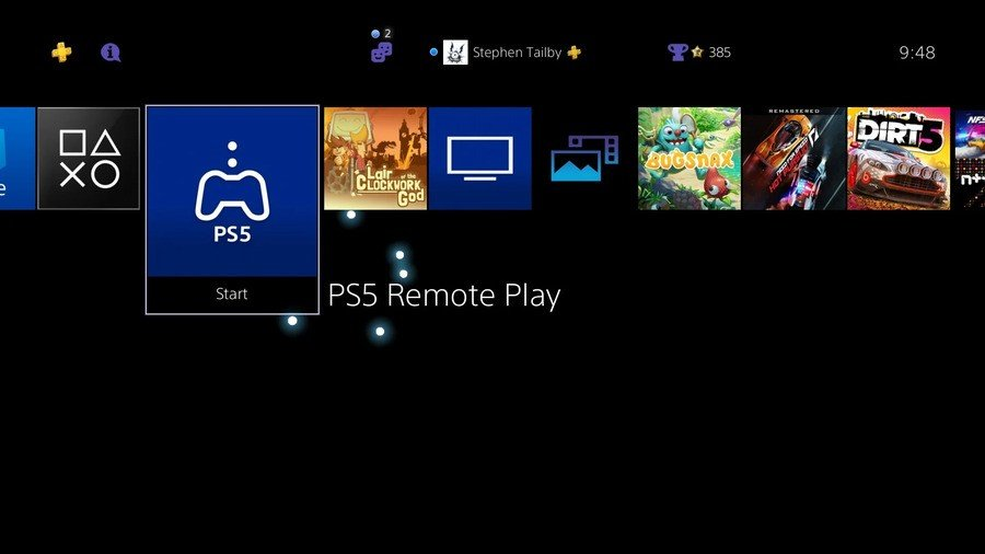 PS5 Remote Play PlayStation 5 1