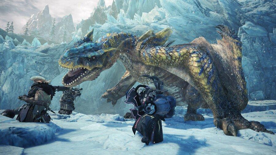 Monster Hunter World: Iceborne Tigrex Beta Test PS4 PlayStation 4