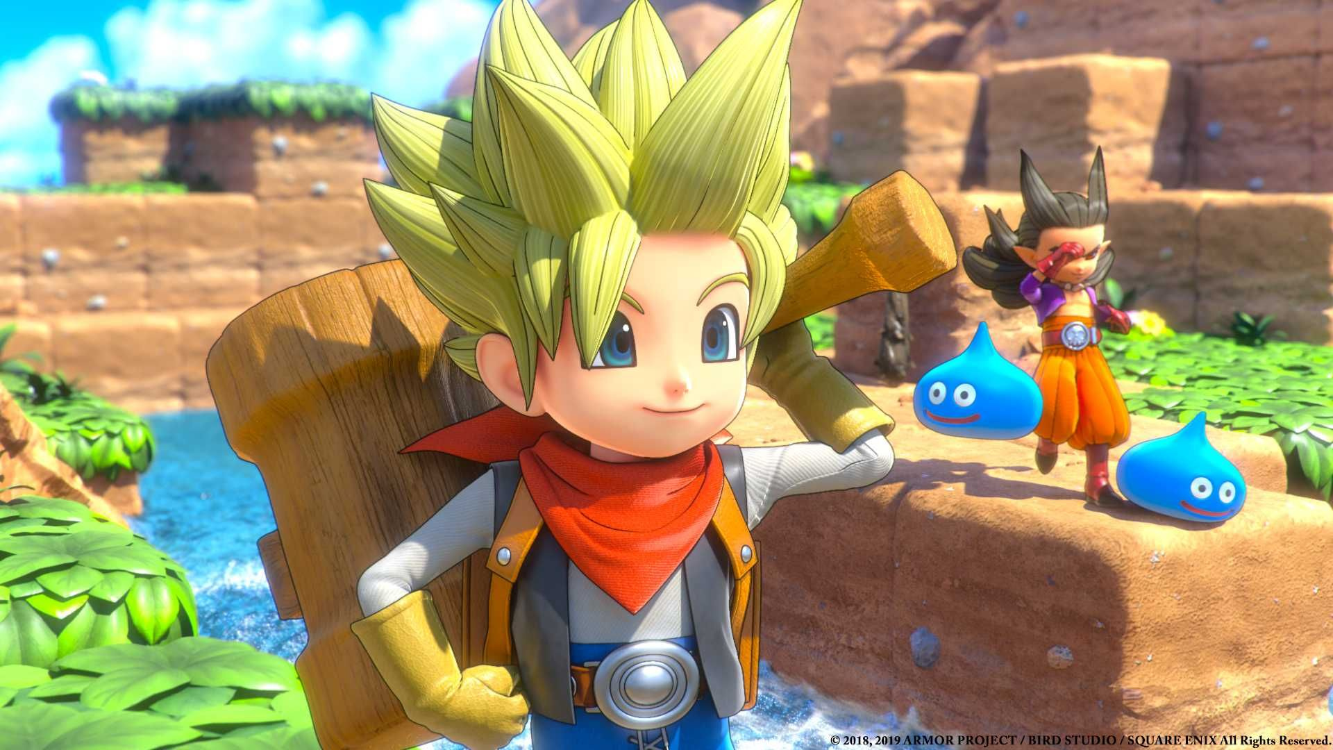 Dragon Quest Builders 2 in 9 new games in july