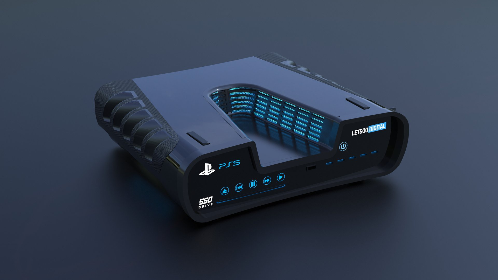 Sony labels the PS5 as the