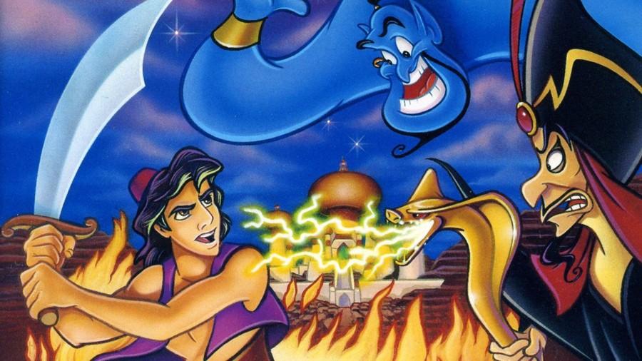 Disney's Aladdin Mega Drive PS4 PlayStation 4