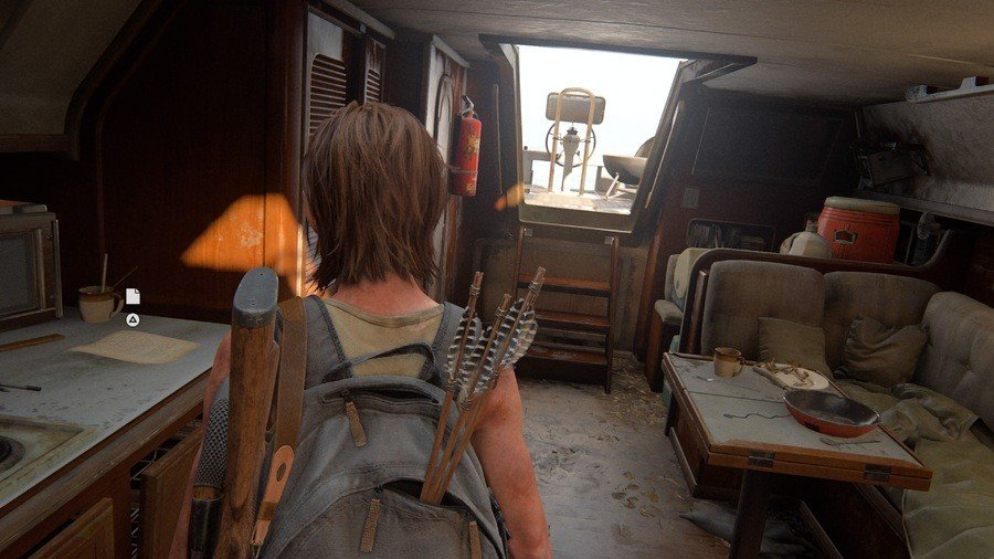 The Last Of Us 2 Pushing Inland Collectibles Guide Artefact 1