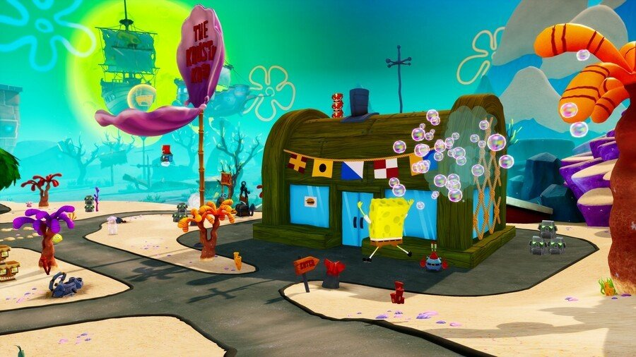 SpongeBob SquarePants Battle for Bikini Bottom Rehydrated Bikini Bottom Collectibles Guide PS4 PlayStation 4
