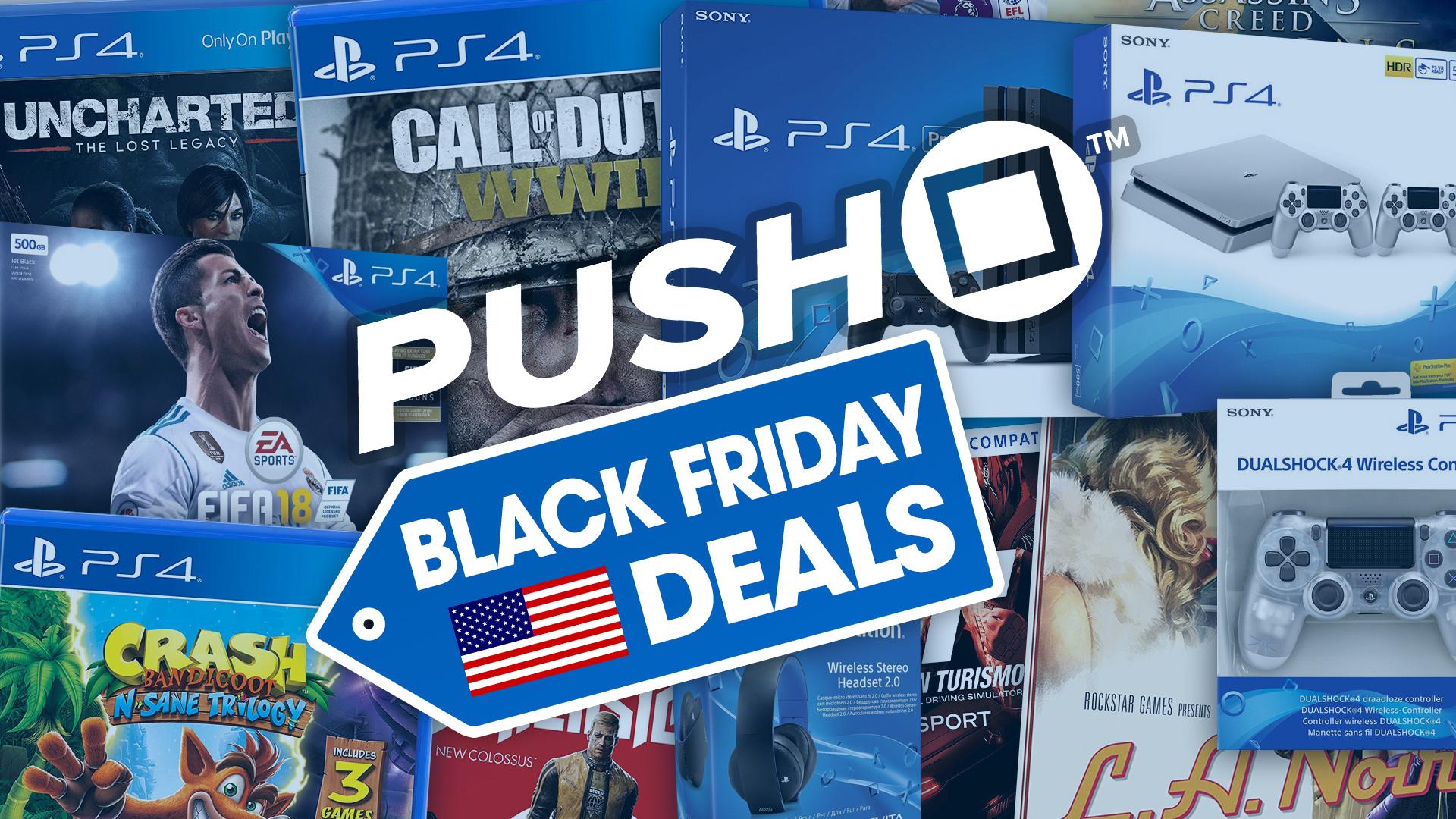Best Black Friday 2018 PS4 Deals: PS4 Pro, PS4 Slim ...