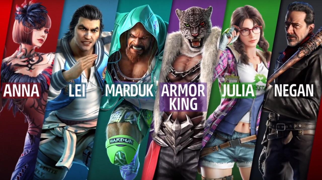 Julia Joins Tekken 7 Alongside The Walking Dead's Negan Later This Month