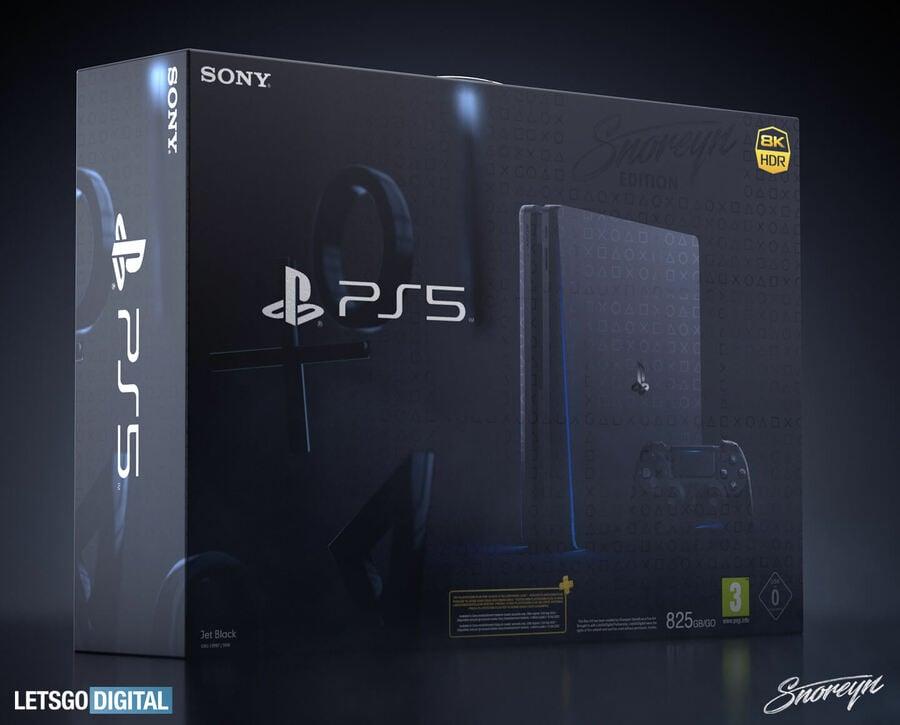 PS5 PlayStation 5 Box Art 1