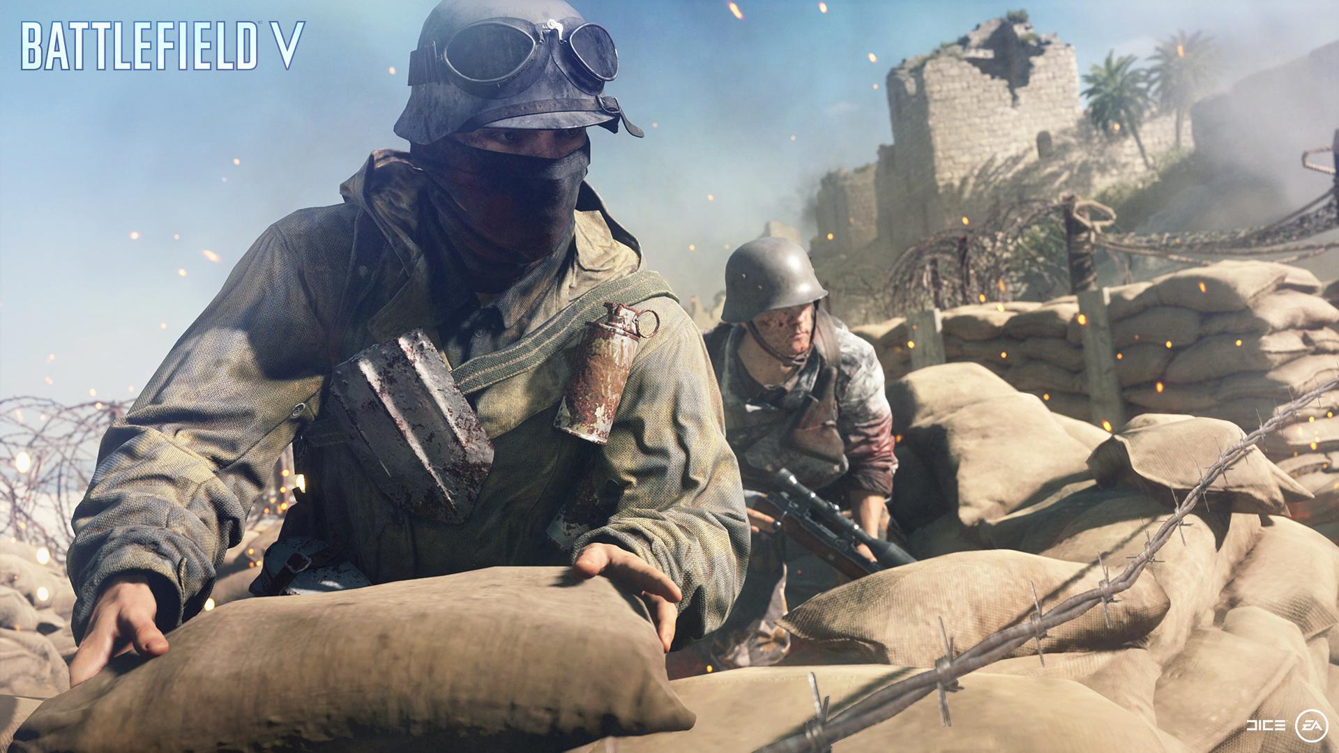 Battlefield 5 - All Assault Class Combat Roles, Weapons