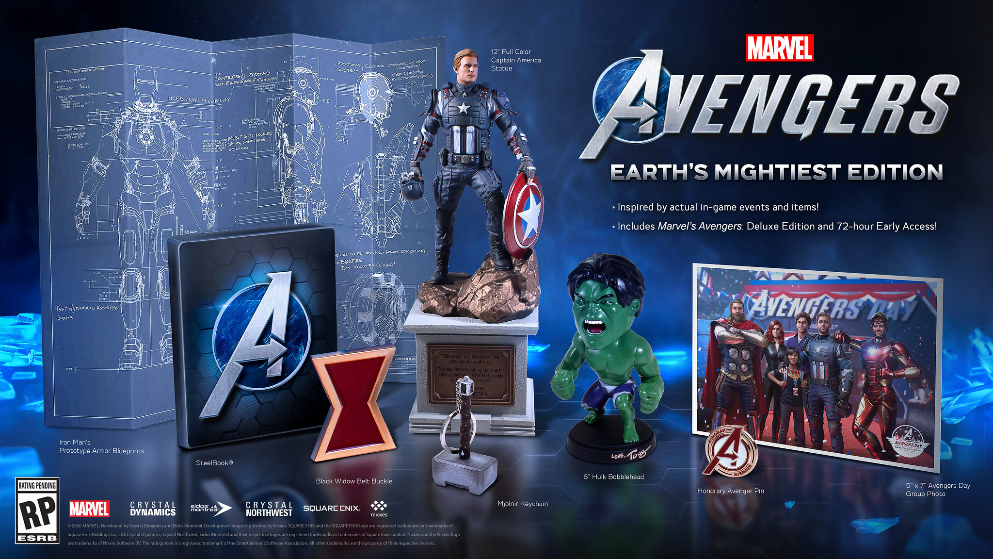 Marvels Avengers Preorders Open for Earths Mightiest, Deluxe Editions