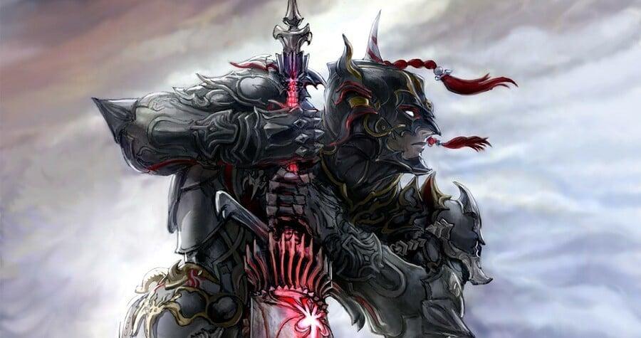 Final Fantasy XIV Dark Knight Berserk