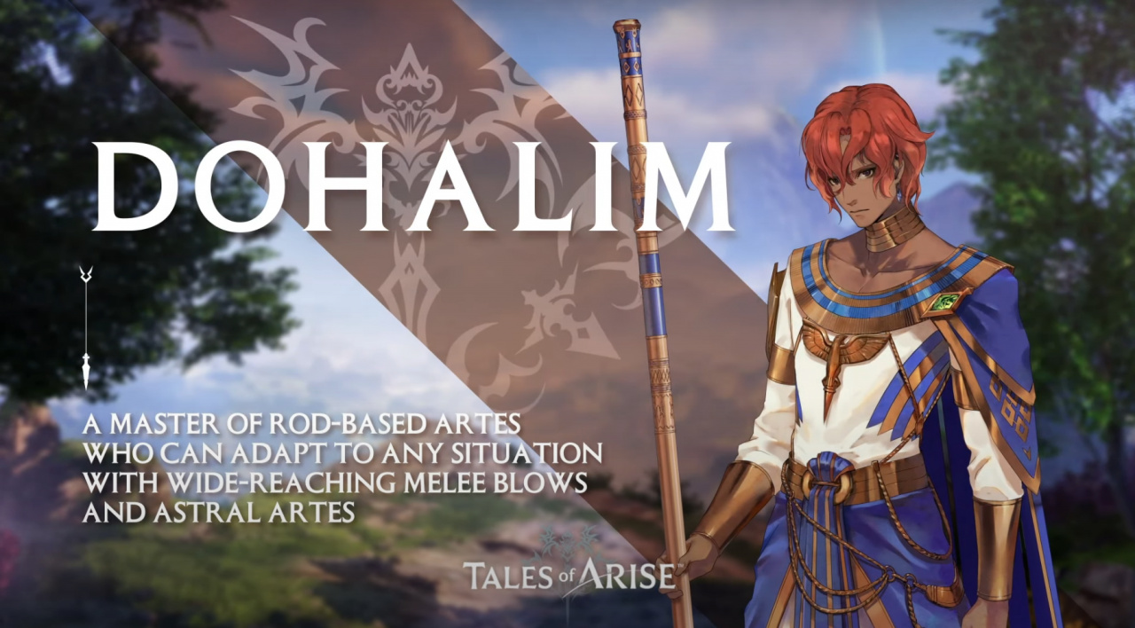 Sixth Tales of Arise Character Trailer Details Dohalim