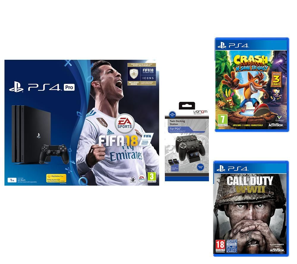 Deals Grab A Ps4 Pro With Three Blockbuster Games For A Great Price Push Square