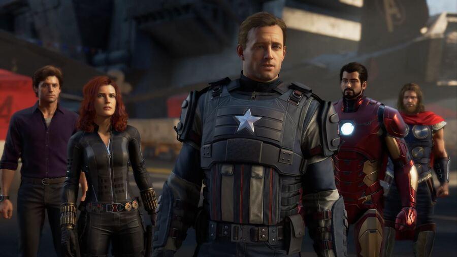 The Avengers Square Enix