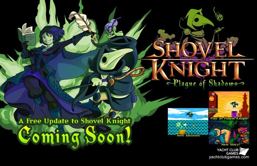 Shovel Knight: Plague of Shadows PS4 PS3 Vita
