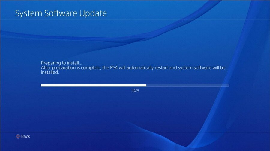 PS4 PlayStation 4 Firmware Update 6.72