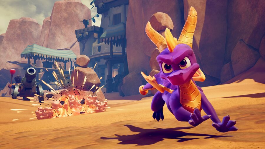 Spyro: Reignited Trilogy PS4 PlayStation 4 Retro Sale PS Store North America