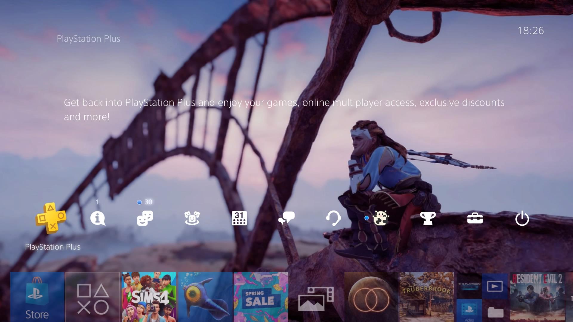 horizon zero dawn 1st anniversary theme.original - PlayStation 4 - Guida: i migliori temi gratuiti da scaricare