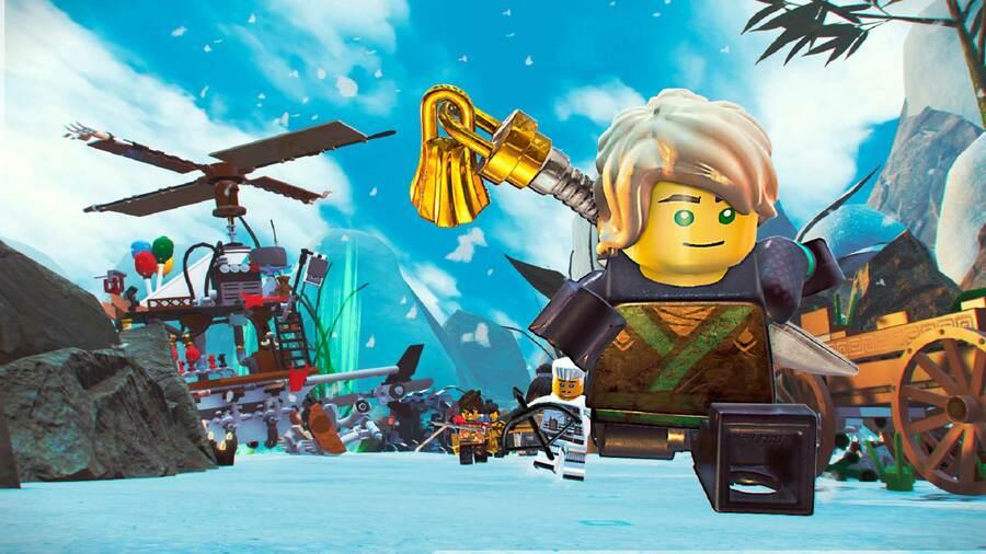 LEGO Ninjago Movie Video Game PS4 PlayStation 4