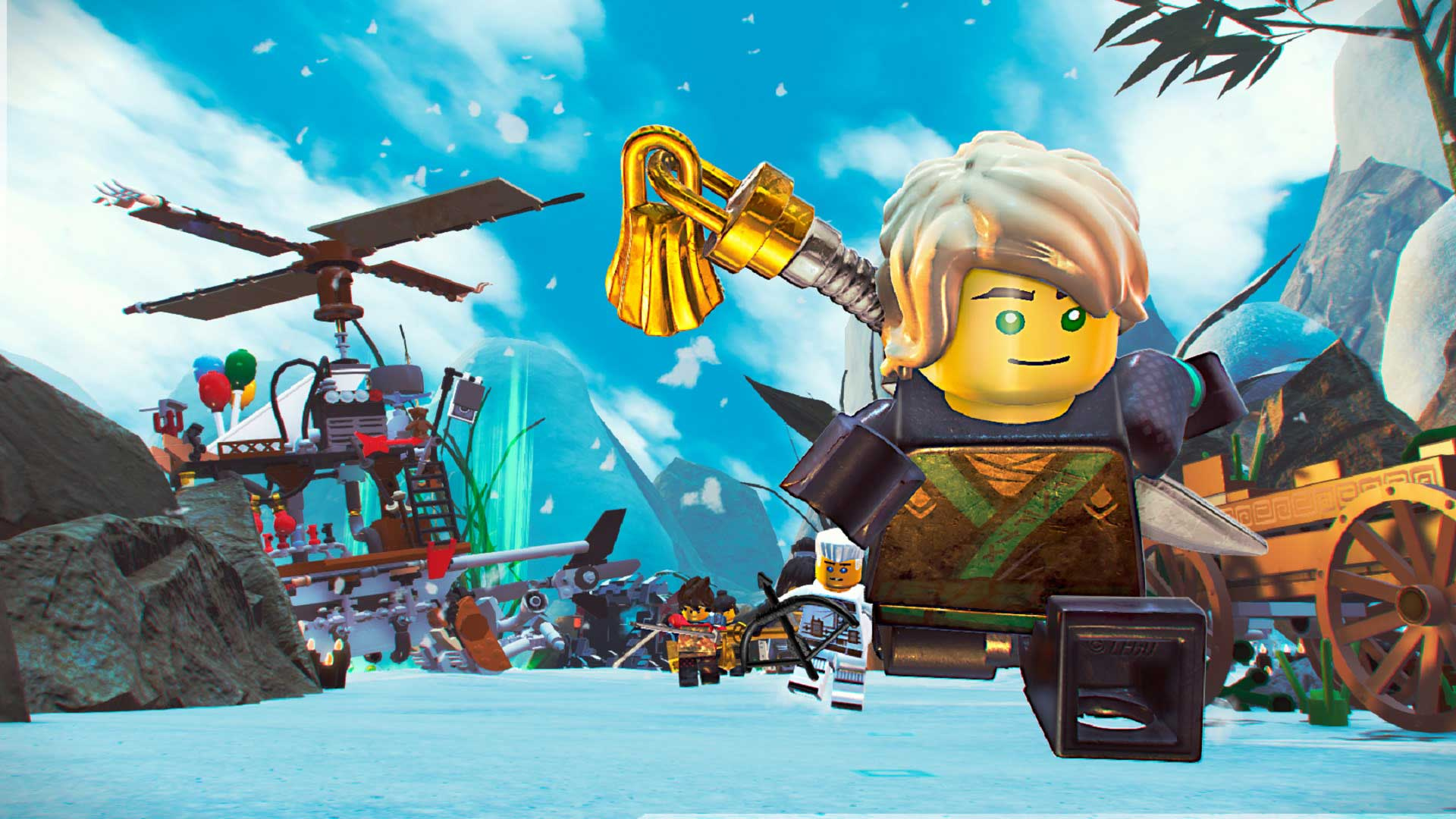 The Lego Ninjago Movie Video Game is free to download and keep