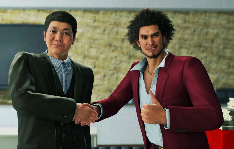 Yakuza Like a Dragon PS5 PlayStation 5 PS4 1