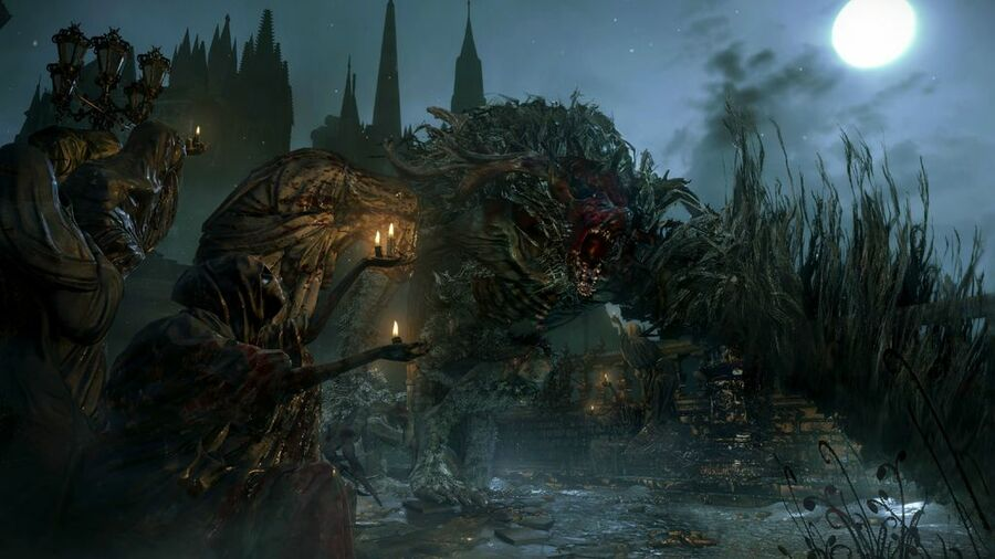 Bloodborne PS4 Cleric Beast Boss Guide