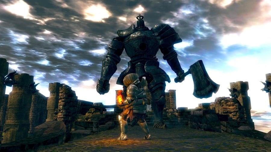 Dark Souls Remastered Iron Golem Boss Walkthrough Guide