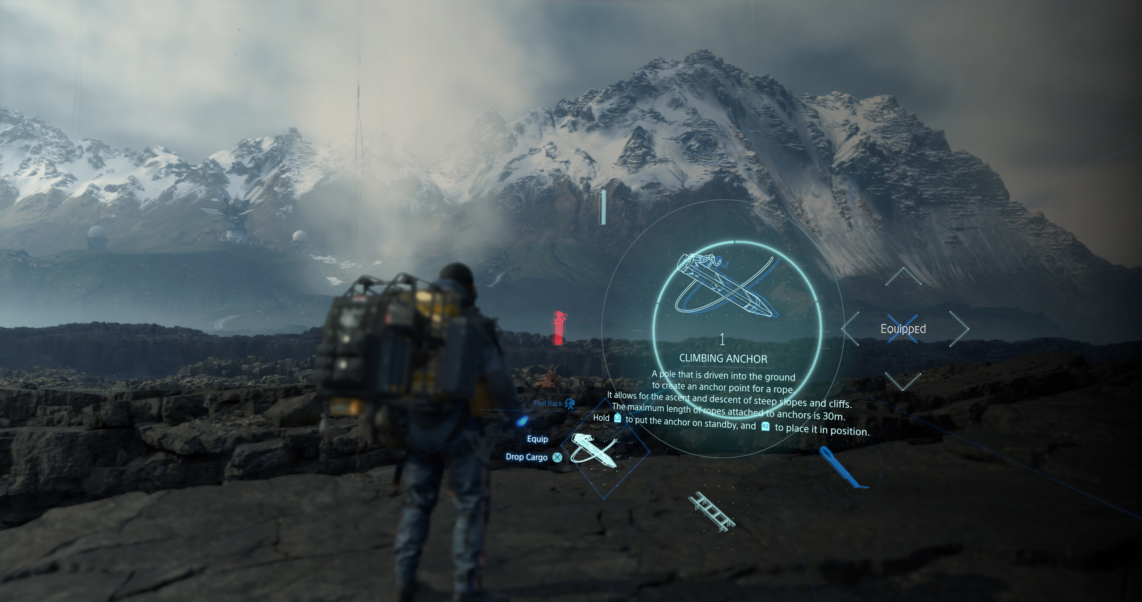 Hideo Kojima Teases Size of Death Stranding's World, Essentially Says 'See That Mountain? You Can Climb It'