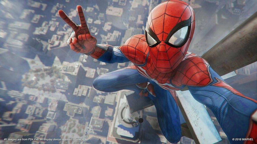 Spider-Man E3 2018 PS4 PlayStation 4 1