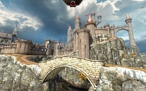 An Updated Epic Citadel Demonstration Was Used To Showcase Unreal Engine On NGP.
