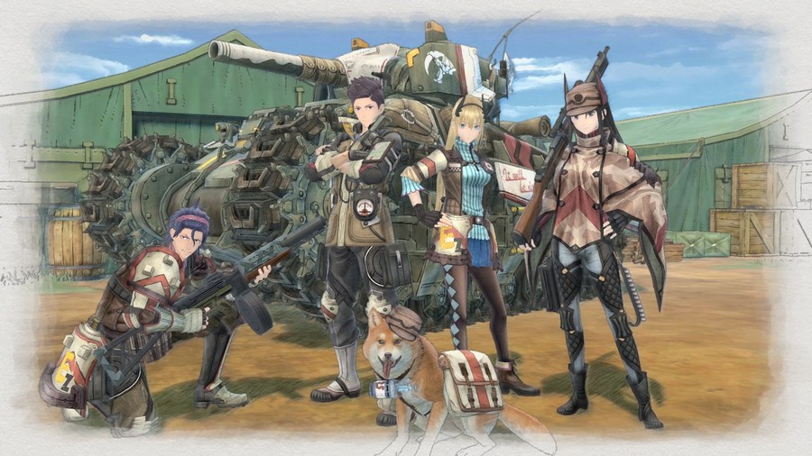 Valkyria Chronicles 4 Squad E