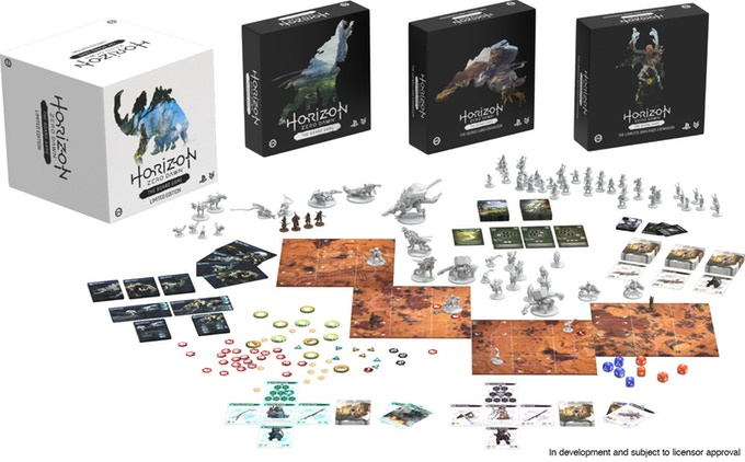 Horizon: Zero Dawn Board Game PS4 PlayStation 4