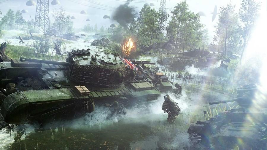 Battlefield V Open Beta Ps4 Playstation 4.original