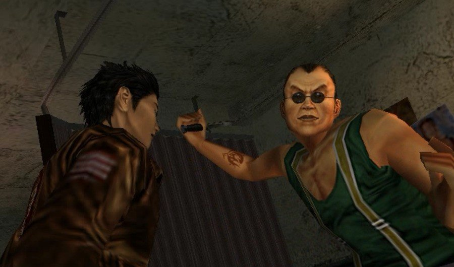 Shenmue How to Find Charlie in the Tattoo Parlor in Dobuita Guide 1