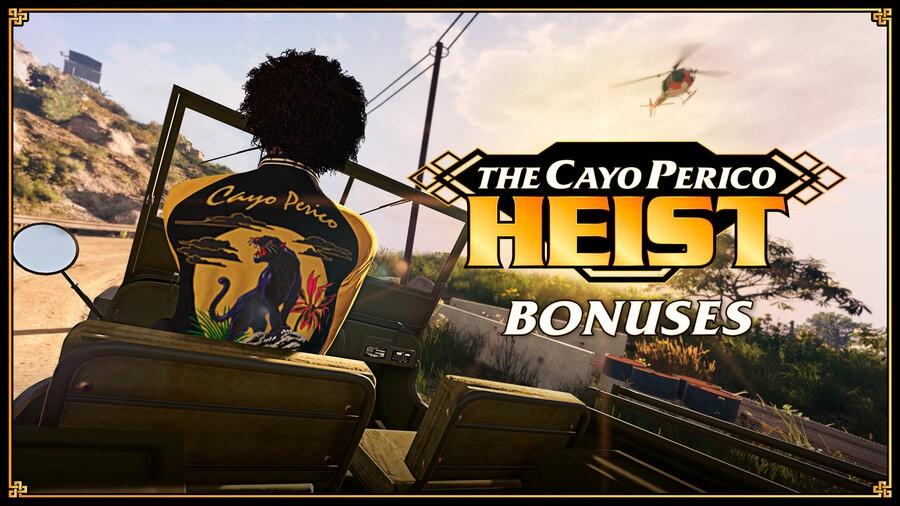GTA Online Cayo Perico Heist PS4 PlayStation 4 1