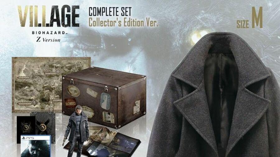 Resident Evil Village Complete Set Collectors Edition