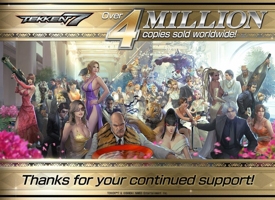 Tekken 7 4 Million All Characters Art