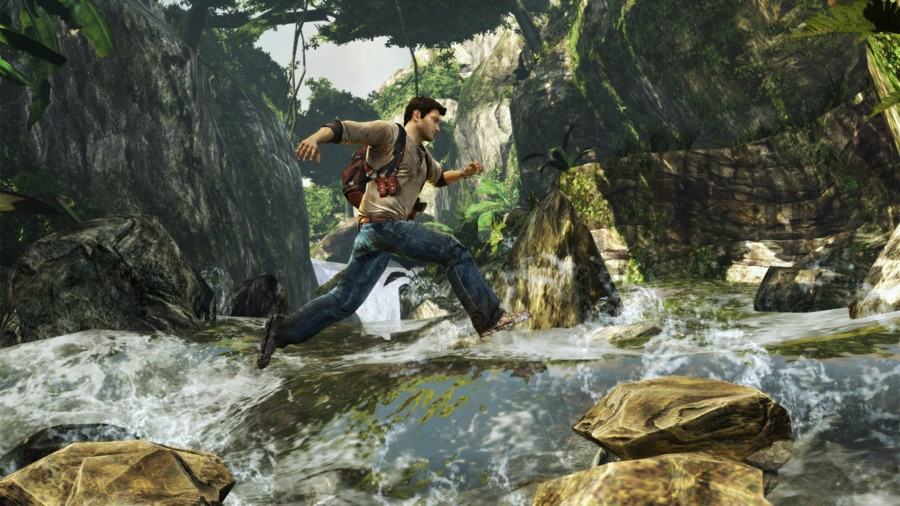 Uncharted Golden Abyss PS4 PlayStation Vita