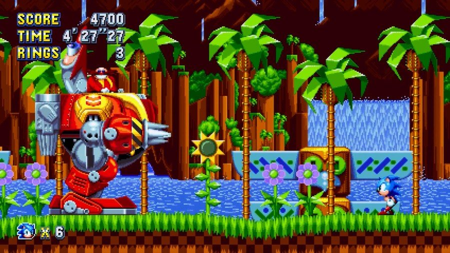 Sonic Mania PS4 PlayStation 4