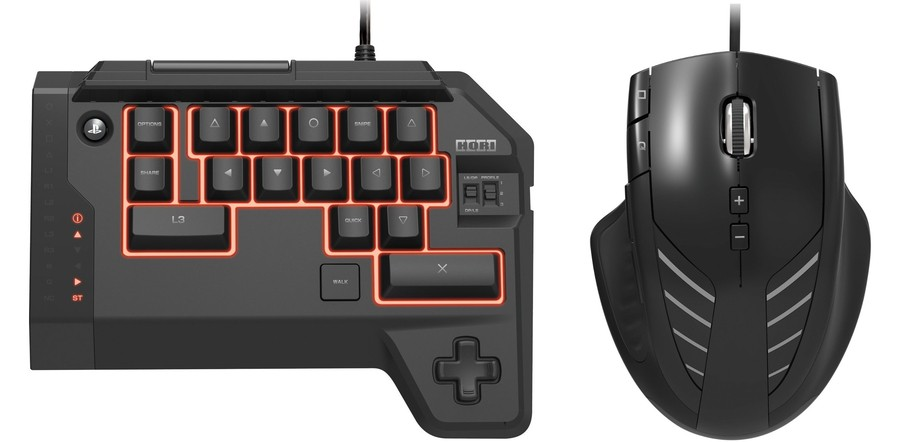 Hori Tactical Assault PS4 Keyboard Mouse Controller