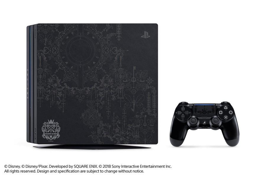 Kingdom Hearts III PS4 Pro Bundle PlayStation 4 1