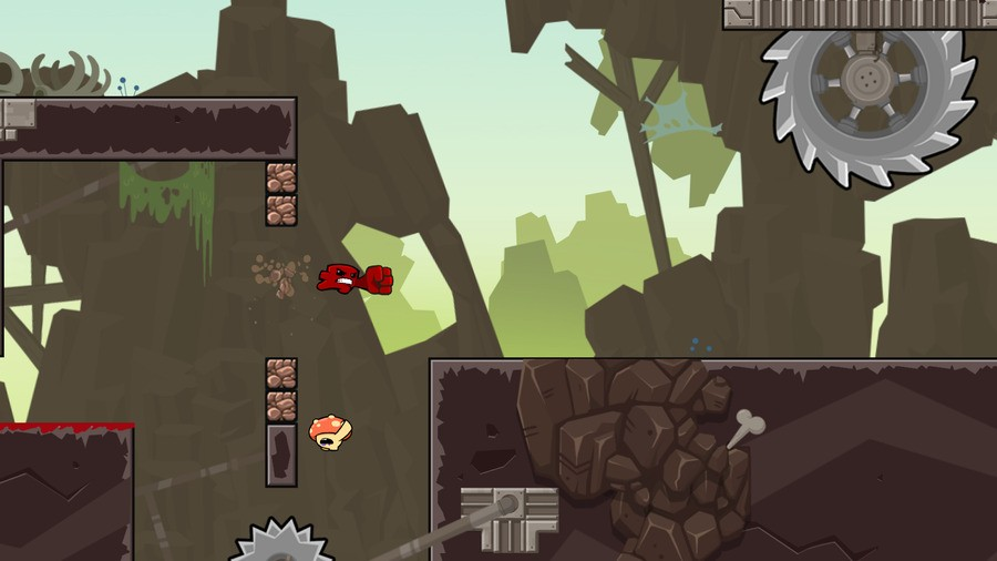 Super Meat Boy Forever PS4 PlayStation 4